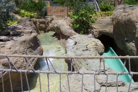 Atlantis waterslides
