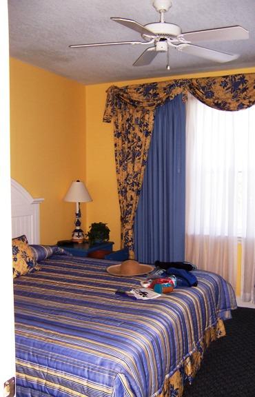 Harborside resort interior bedroom