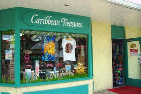 Paradise Island shopping mall