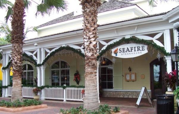 SeaFire Steakhouse Atlantis Bahamas