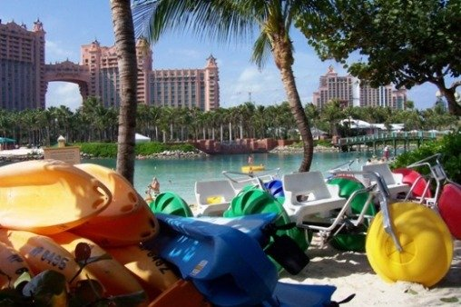 Blue Adventures water toys, Atlantis lagoon